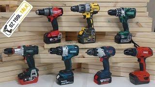 Brushless 18V Hammer Drill Fight - Milwaukee, Makita, Dewalt, Bosch, Hilti, Hitachi & Metabo