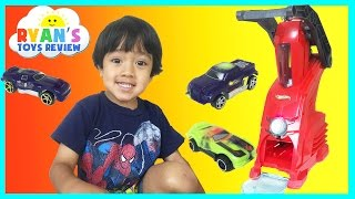 HOT WHEELS CAR MAKERS PLAYSET Toy for kids Ryan ToysReview