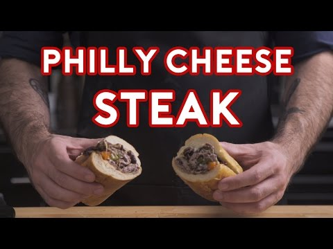 Binging with Babish How to make a real Philly Cheesesteak from Creed