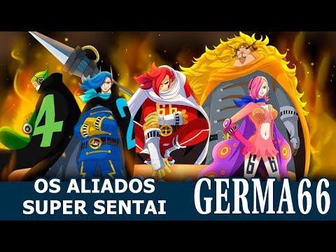 S Blue S #137 - OS ALIADOS SUPER SENTAI: GERMA 66!