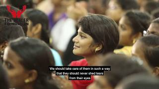 She is your lover.!! Not a ****h..!!!   The Healer Foundation   Sakthi speech   motivation video