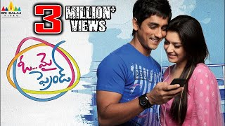 Oh My Friend Telugu Full Movie | Latest Telugu Full Movies | Siddharth, Shruti Haasan, Hansika