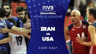 Iran v USA highlights - FIVB World League