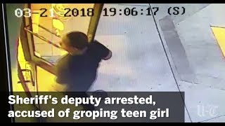 Sheriff's Deputy Arrested, Accused Of Groping Teen Girl | San Diego Union-Tribune