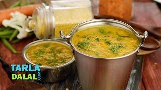 Subzi Dal, Recipe in Hindi (सब्जी दाल) by Tarla Dalal