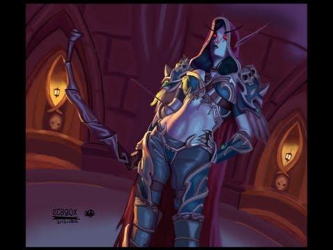 World Of Warcraft (Sylvanas) Speed Paint