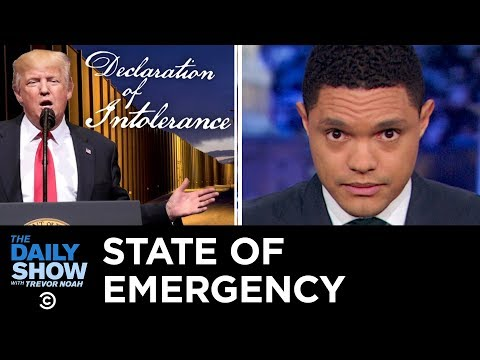 Here's What Will Happen if Trump Declares a State of Emergency The Daily Show