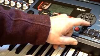 Yamaha DJX Sampling tutorial