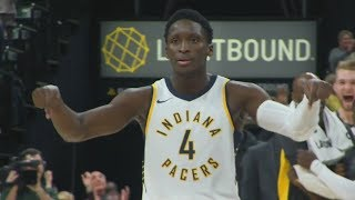Victor Oladipo Game Winner vs Bulls! 27 Points! Bulls vs Pacers 2017-18 Season