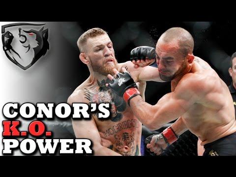Conor McGregor s Left Hand KO Power Analysis Breakdown