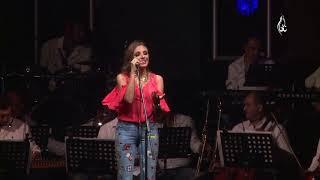 انغام  ما في مثلك بدون موسيقى من حفل الساحل الشمالي صيف 2017 بمسرح RMC