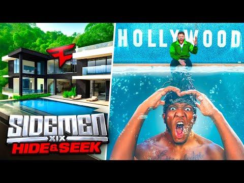 SIDEMEN 20 MILLION CLOUT HOUSE HIDE & SEEK