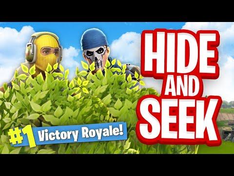 NEW HIDE & SEEK Custom Gamemode Fortnite Battle Royale