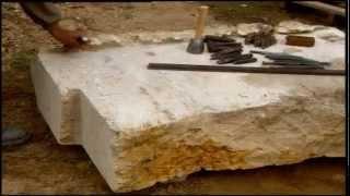 Cantero: El arte del trabajo en piedra. Fotografía Luis Carlos González Fernández
