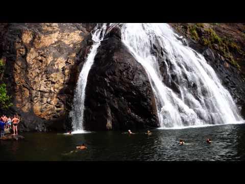 Xxx Mp4 Dudhsagar Waterfall GOA India 3gp Sex