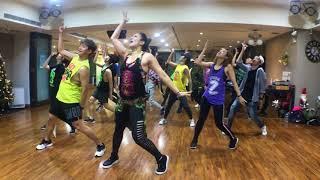 Boom Boom   RedOne, Daddy Yankee ZUMBA®️with ZES Pinky W Pink Corner Dance Studio