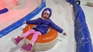 Antalyada Kar keyfi , elif kar dünyasında çok eğlendik , eğlenceli çocuk videosu