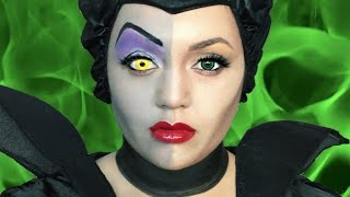 MALEFICENT OLD VS NEW MAKEUP TUTORIAL!