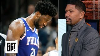 Joel Embiid's dwindling energy due to conditioning – Jalen Rose   Get Up!