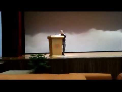 Er. neeraj dubey Sr. Assistant Professor of GCET Jammu performing @ smvdu katra