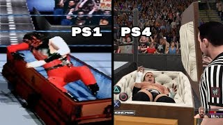 The Evolution Of Casket & Buried Alive Matches In WWE Games
