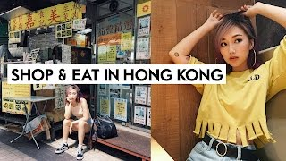 👠 FOLLOW ME AROUND HONG KONG 🍜  Shop & Eat w/ ME! 🇭🇰 | IAMKARENO
