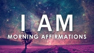 """POWERFUL POSITIVE Morning Affirmations for POSITIVE DAY, WAKE UP: 21 Day """"I AM""""  Affirmations"""