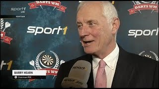 Barry Hearn  2018 on The Final,Germany & The Future