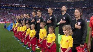 FIFA WORLD CUP 2018 : NATIONAL ANTHEM CROATIA VS ENGLAND WORLD CUP 2018
