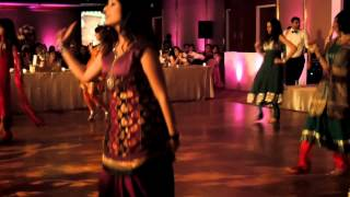 Anuja and Anubhav's wedding reception part 1