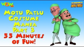 Motu Patlu Costume Mania - Part 3 - 55 Minutes of Fun!