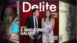 9tro and BLACK Magazines on SingTel's
