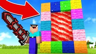 HOW TO MAKE A PORTAL TO CANDY LAND! (100% WORKS!)