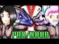 ARMOR ROULETTE CHALLENGE - Pro and Noob VS Monster Hunter World Multiplayer! (Coral Highlands Event)