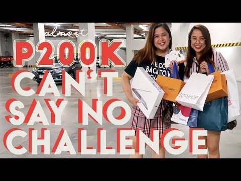Xxx Mp4 P200K Can 39 T Say NO Challenge With My Sister Vlogmas Day 4 3gp Sex
