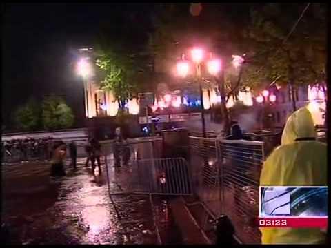 ТВ Rustavi 2 Тбилиси 26 мая 2011 ч. 3