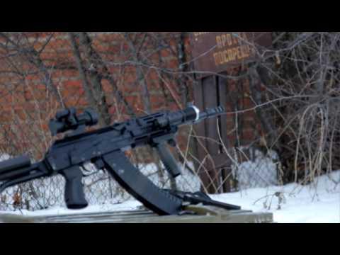 Обзор ВПО-148. Новый Вепрь-1В в калибре 5,45 / New Vepr-1V (VPO-148) review