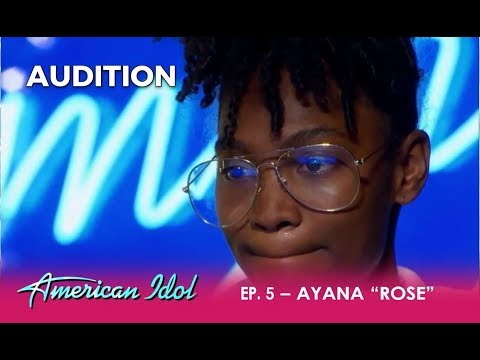 """Ayana """"Rose"""" Lawson: This Audition Will Bring TEARS To Your Eyes! 