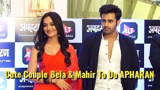 Naagin 3 - Cute Couple Bella & Mahir To Do Apharan - Full Interview - Apharan Webseries Launch