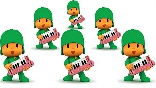 Learn Animals And Colors Pocoyo Fun  Baby Games