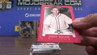 6/26 - 2017 Diamond Kings Baseball 6 Box Half Case Break Random Team