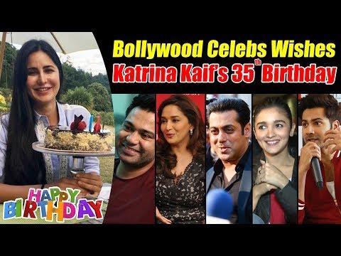Xxx Mp4 Bollywood Celebrities Wishes Katrina Kaif On His 35th Birthday Salman Alia Arpita Varun 3gp Sex