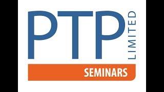 PTP Seminars 2019 - Book today