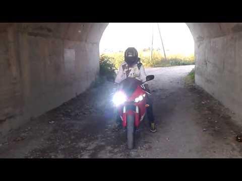 Yamaha R6 LeoVince SBK exhaust tunnel sound