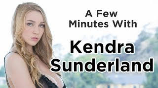 A Few Minutes with Kendra Sunderland