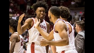 Avery Johnson, Collin Sexton and Donta Hall discuss a wild finish to the UT Arlington game