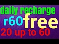 Download Video Free recharge daily 20 up to 60 3GP MP4 FLV