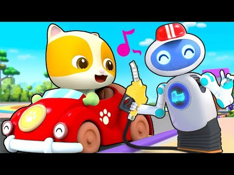 Magical Robot Gas Pumper Doctor Cartoon Police Truck Kids Cartoon Kids Cartoon BabyBus