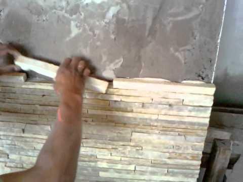 Colocação de Pedra Palito Caxambú