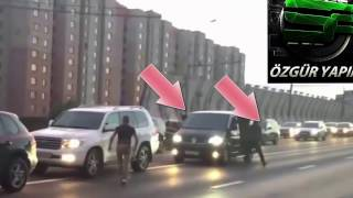 Trafikte Yanlış Kişiye Artislik Yapmak